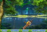 Увлекательная рыбалка на лесном озере