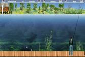 Рыбалка на озере Лесная Лагуна