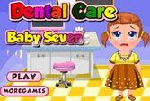 Пора лечить зубки маленькой девочки Кати