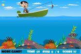 Мистер Бин ловит рыбу в водоеме
