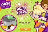 Хозяюшка Полли Покет готовит вкусный торт