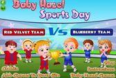 День спорта в городе Малышки Хейзел
