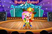 Малышка Хейзел обладает особыми цирковыми талантами