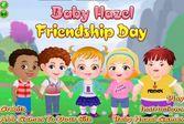 Малышка Хейзел отмечает праздник настоящей дружбы