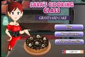 Готовить торт Хэллоуин с Сарой