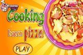 Рецепт приготовления пиццы из бекона с сыром