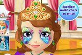 София прекрасная украшения на лице