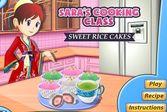 Кухня Сарф пирожные из риса