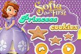 София прекрасная печёт печенье