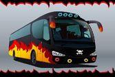 Автобус который перевозит рок музыкантов