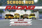 Безумные гонки на школьных автобусах