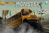 Ведите монстр автобус по пост апокалиптическому миру