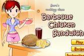 Кухня Сары сэндвич с курицей
