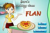 Кухня Сары флан