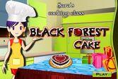 Кухня Сары вишнёвый торт