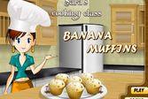 Кухня Сары банановые кексы