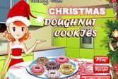 Кухня Сары новогодние пончики