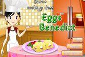 Кухня Сары яйца Бенедикт