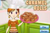 Кухня Сары карамельные роллы