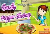 Кухня Сары креветки в остром соусе