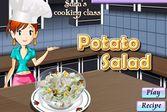 Кухня Сары картофельный салат