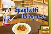 Кухня Сары спагетти болоньезе