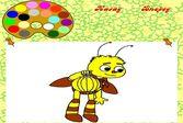 Раскраска Пчелёнок из Лунтика