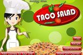 Кухня Сары тако и салат