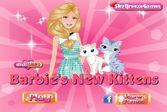 Помогите кукле Барби ухаживать за котятами
