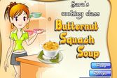 Кухня Сары суп Сквош