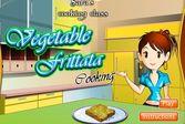 Кухня Сары овощная фриттата