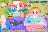 Малышка Хейзел научит Вас ухаживать за волосами