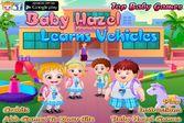 Малышка Хейзел мечтает научиться водить машину