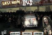 Автобус перевозивших выживших людей из мертвого города