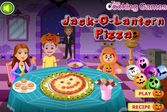 Праздничная пицца к знаменитому празднику Хэллоуин