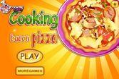 Вкуснейшая пицца с добавлением бекона