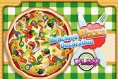 Вкусная пицца, которую нужно украсить