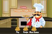 Пицца с ветчиной и грибами с секретом