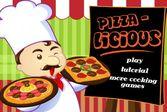 Повторите пиццу как на картинке один в один