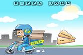 Помогите доставщицу вкусной пиццы Джону