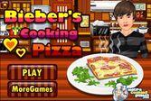 Джастин Бибер научит Вас готовить пиццу