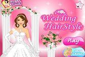 Свадебная прическа для нашей прекрасной героини