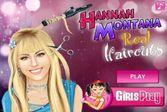 Прическа для знаменитой и красивой Ханны Монтаны