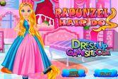 Невероятные волосы белокурой принцессы Рапунцель