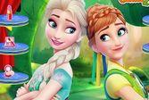 Макияж для принцесс Анны и Эльзы
