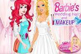 Макияж для свадьбы Барби