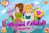 Гламурные девочки собираются отправиться за покупками