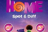 Дом: найти шесть отличий