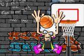 Злая бабушка баскетбол