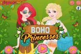Принцесс позвали на модную вечеринку Бохо